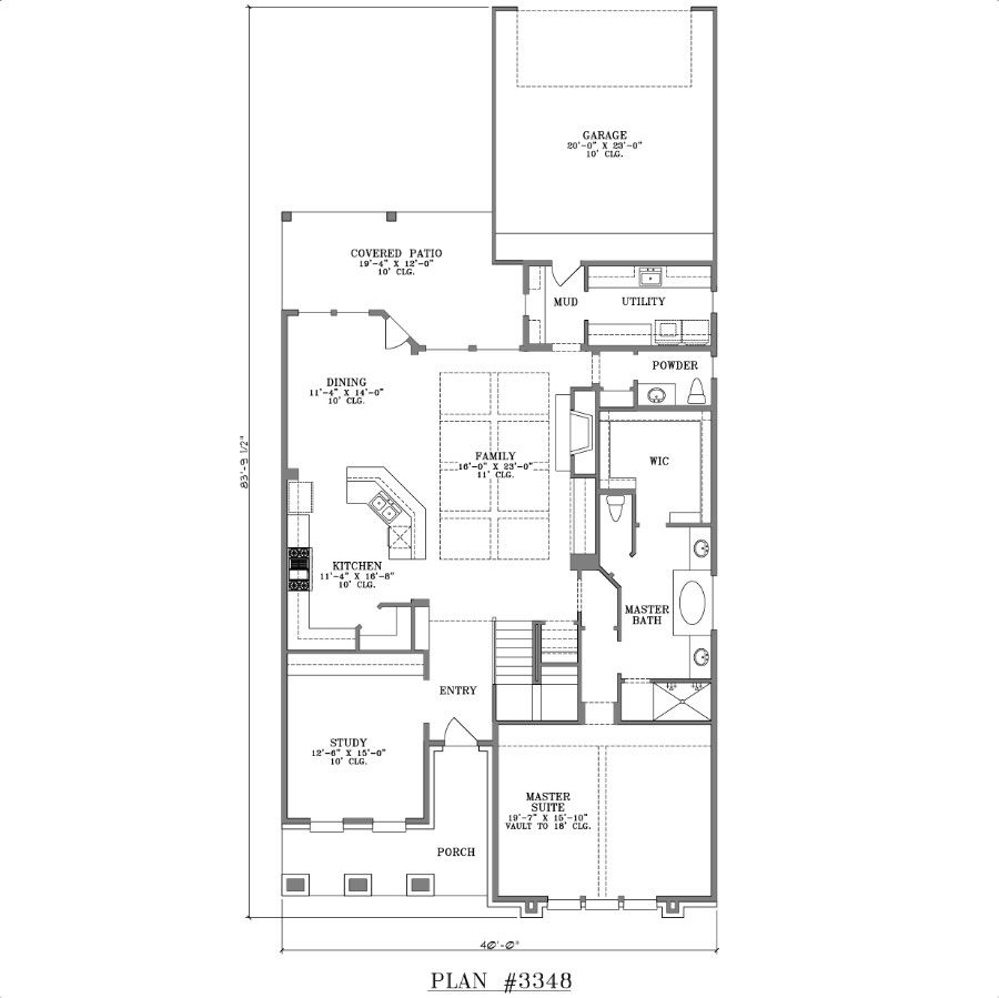 two story house plan 3348 web floor plans houseplans two story house plan 3348 web floor plans