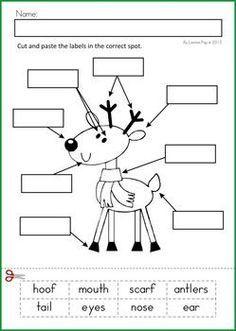 Christmas Math  Literacy Worksheets  Activities No Prep