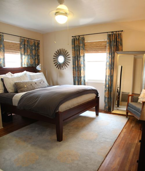 Yet another beautiful bedroom! The curtains were handmade ... on Beautiful Bedroom Curtains  id=17146