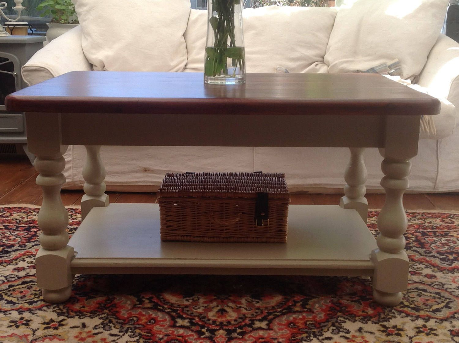 Chunky farmhouse coffee table by VRevival on Etsy Coffee