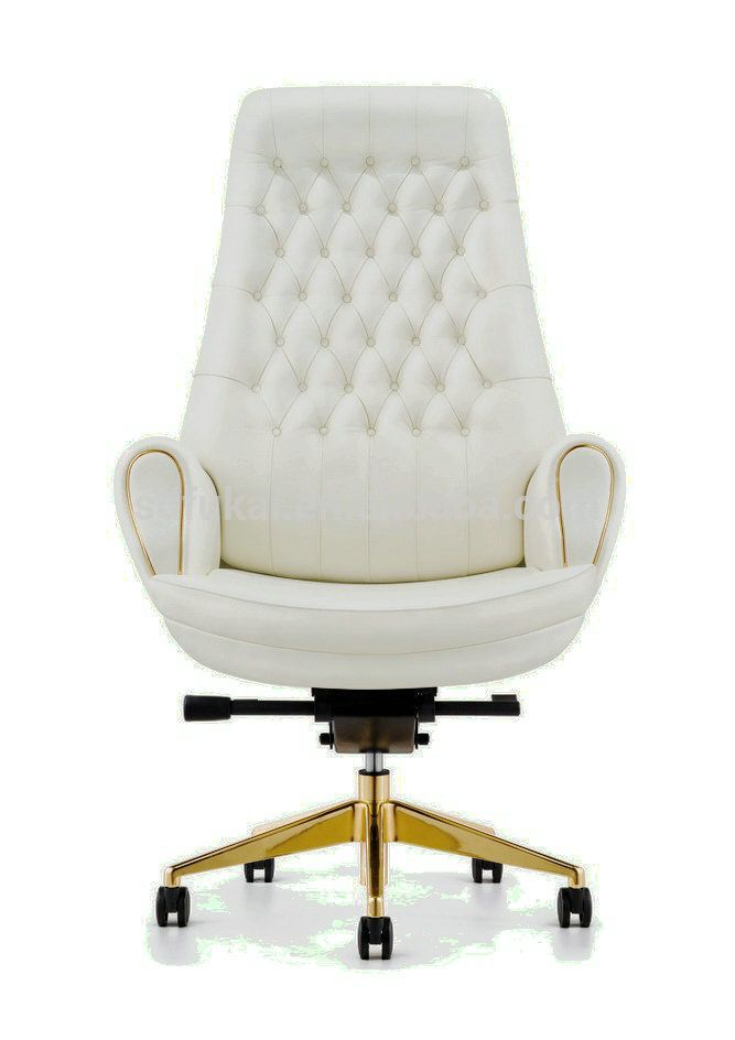 Good Furicco Luxury Classical High Back Office Chair