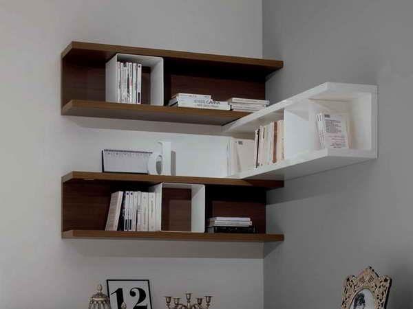 Wall Mounted Corner Shelves Unique Wall Shelves Shelves In
