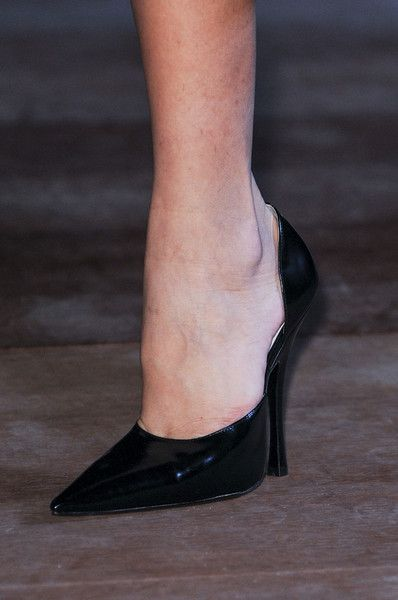 Miu Miu Spring 2013. I can't imagine how bad these hurt, but at least your legs would look great!