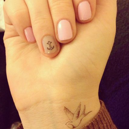 Girl Tattoos Cute Wrist Tattoos Art Bird Tattoos For Women Wrist Tattoos For Guys Bird Tattoo Wrist