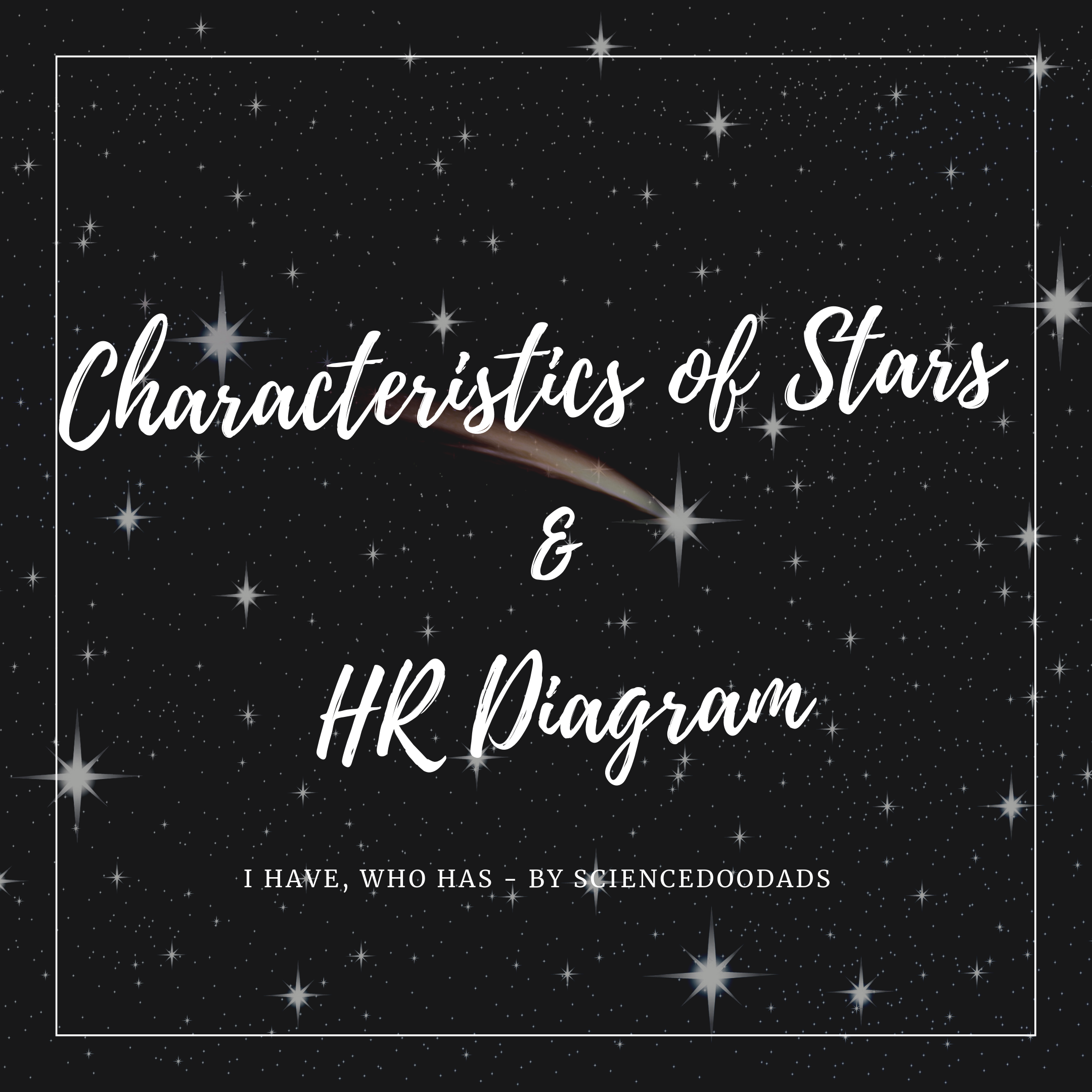 Characteristics Of Stars And Hr Diagram