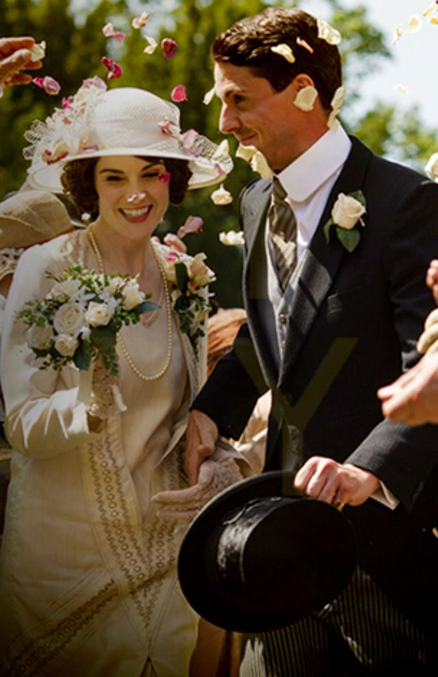lady mary crawley and henry talbots wedding downton