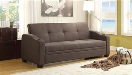 Home Elegance Caffery Grey Elegant Lounger Best Sleeper Sofa
