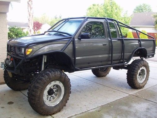 Toyota exo cage cars toyota trucks toyota 4x4 roll cage - Interior roll cage for toyota pickup ...