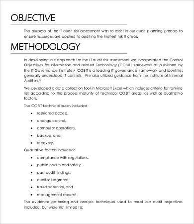 Risk Assessment Template Templates Printable Free Words Assessment