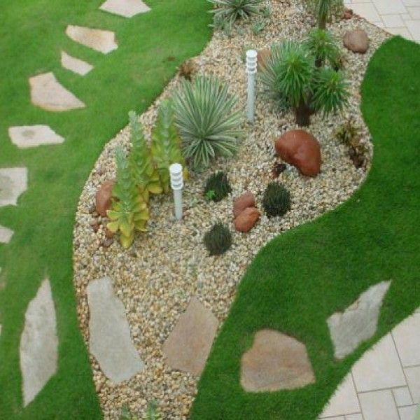 M s de 25 ideas incre bles sobre como decorar jardines en pinterest como decorar el patio - Como decorar jardines con piedras ...