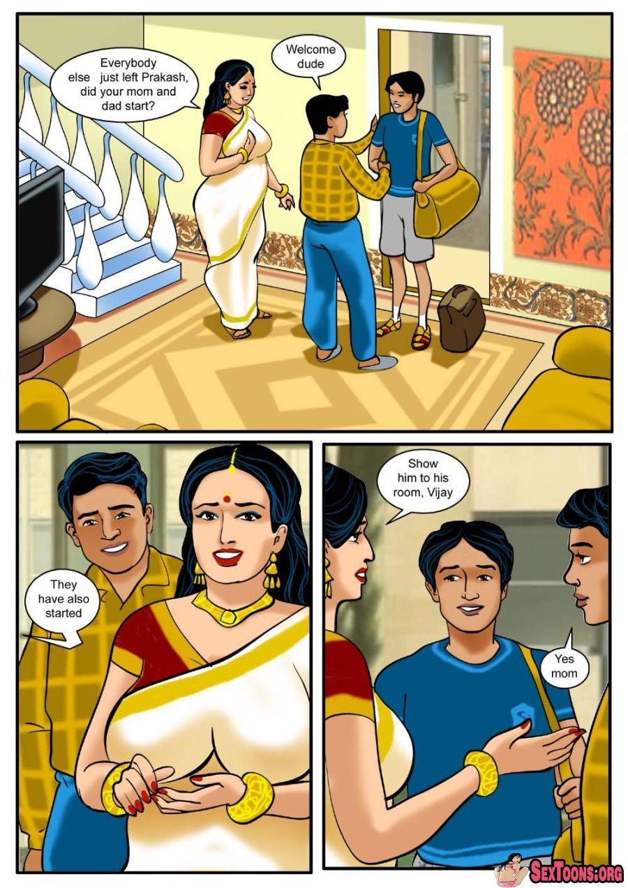 Velamma Raja Comics Auntie And
