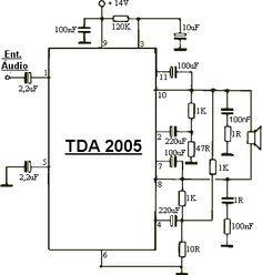 amplificador 30 w tda 2005 mono pinterest audio and audio rh pinterest com
