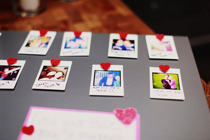 Pin for Later: How to Make DIY Heart Magnets For Wedding Place Cards The Photos