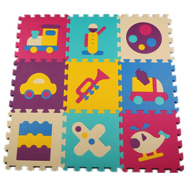 Baby Interlocking Puzzle Play Mat kids Games EVA Mat Foam Carpet Rug Playmat For Kids Floor Crawling Infant Soft 30*30*1cm 9pcs