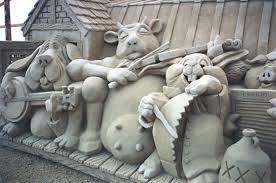 sand sculpture -