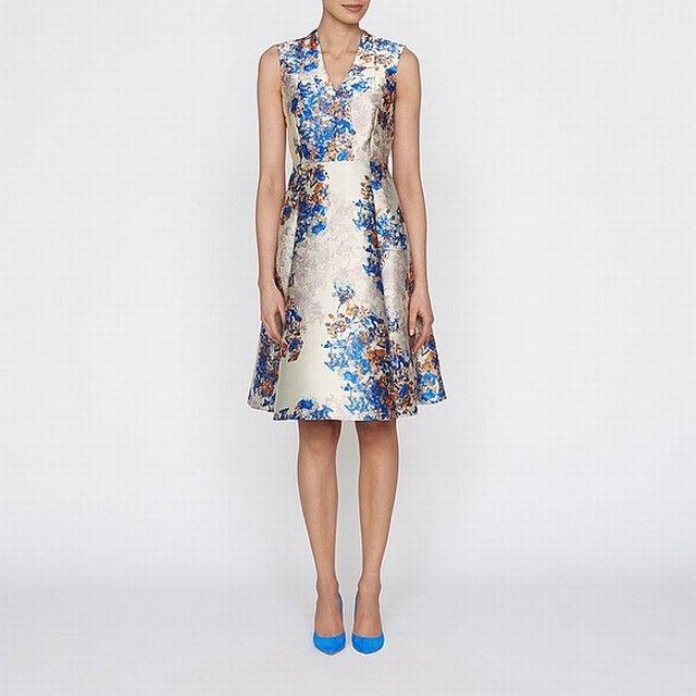 884c45b460 Lk Bennett Lkb_8738 - Multi-Print Kenton Emilia Print Dress - Ladies 92%  Polyester, 8 % Polyamide Dresses