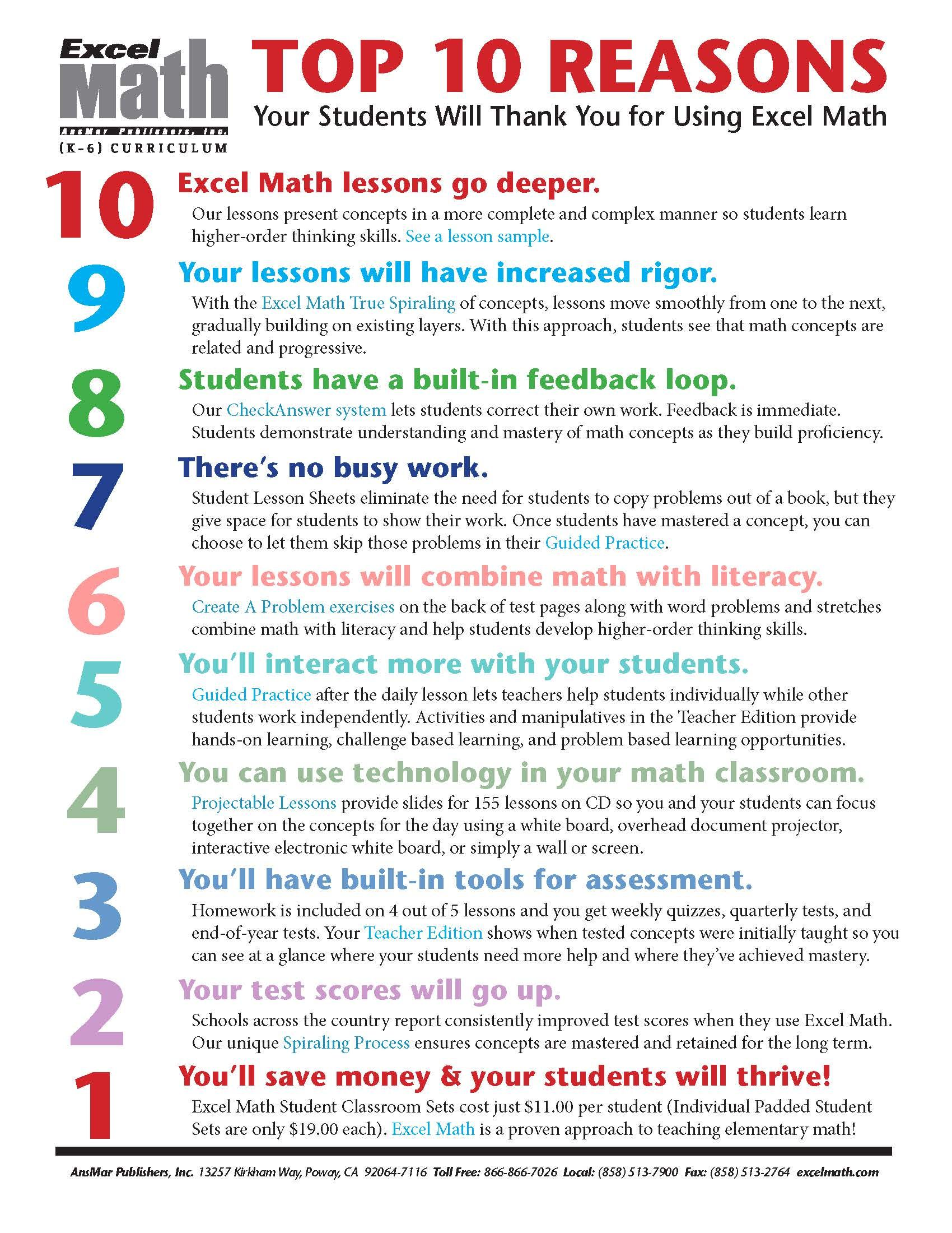 Top 10 Reasons Your Students Will Thank You For Using