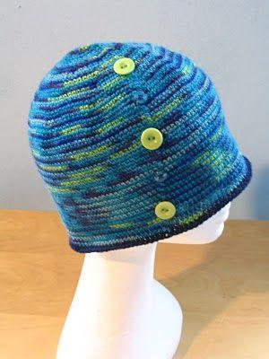SiSoYa Hat – Simple Sock Yarn Hat free #crochet #hat #pattern ...