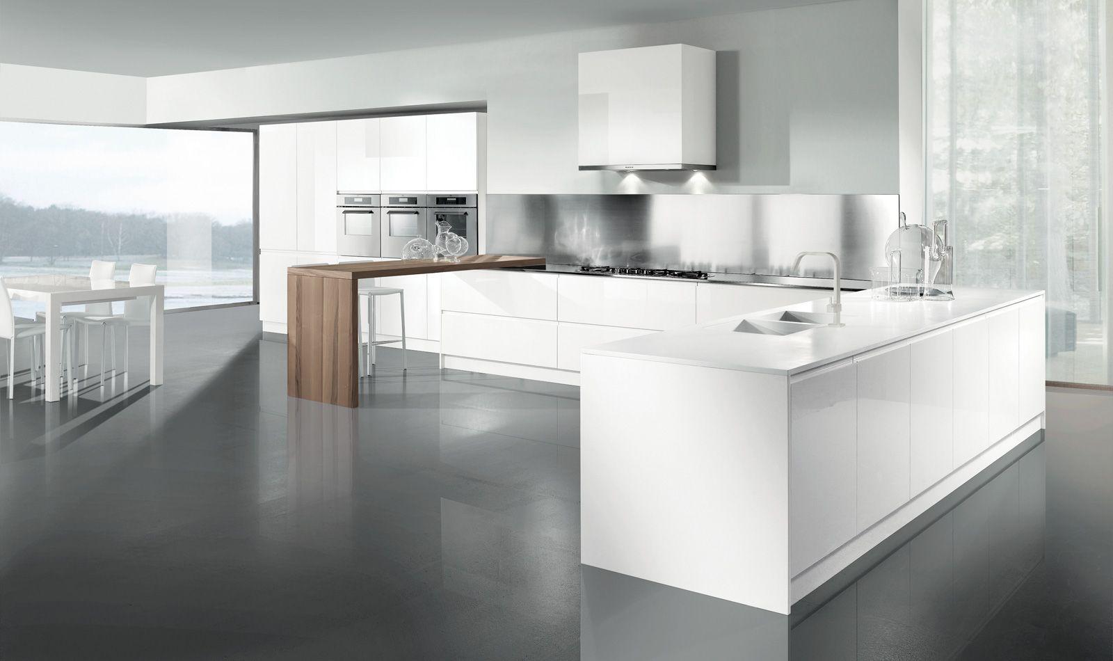 http://www.arredo3.com/it/cucine-moderne/wega.html | White kitchen ...