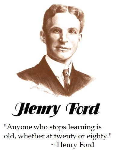 Henry Ford On Education Ford Quotes Henry Ford Quotes Bank Quotes