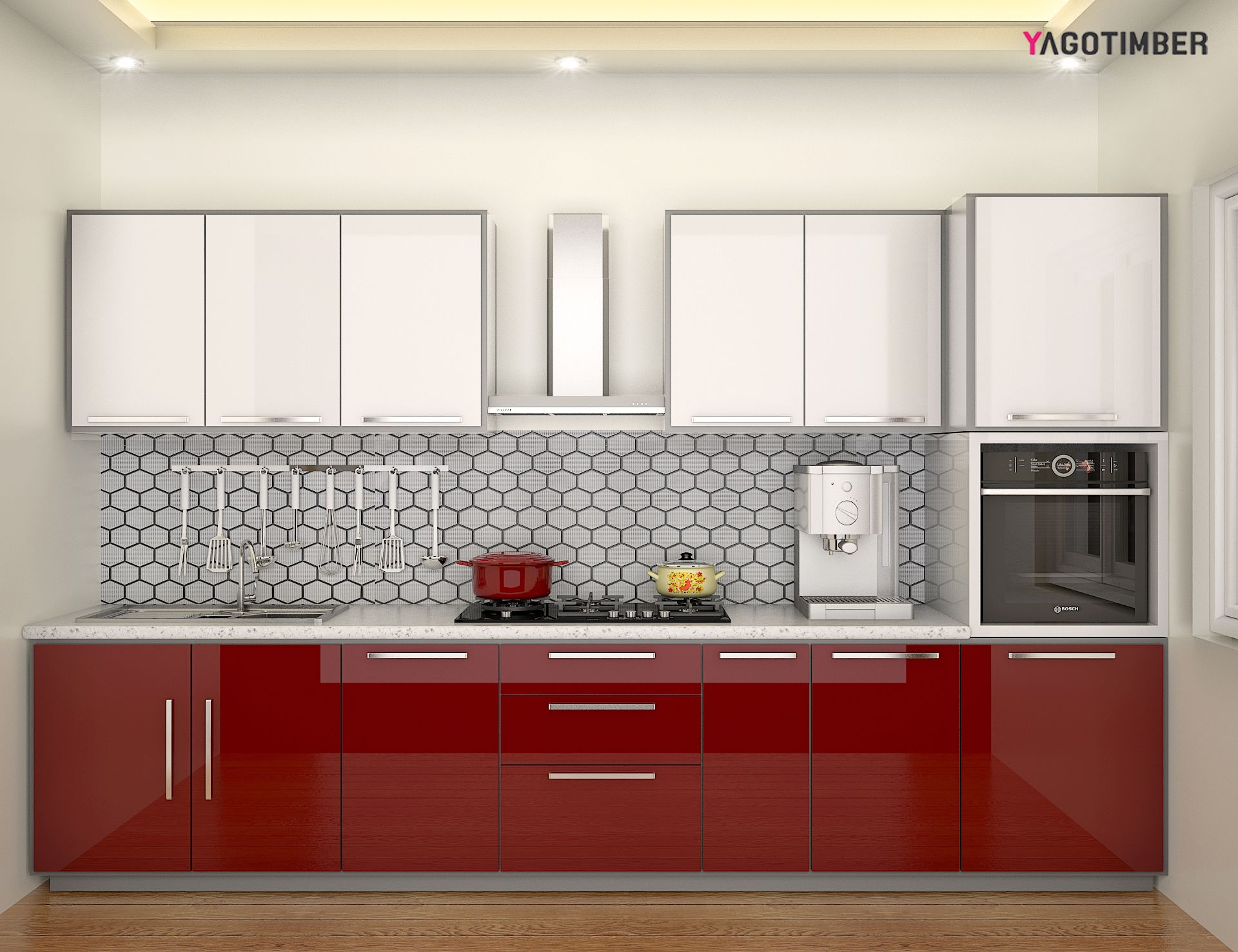 Kitchen Designs Red Kitchen Furniture Modern Kitchen Visit ...