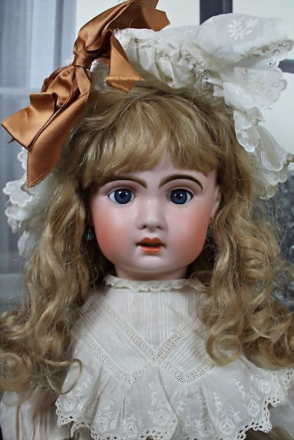 "Beautiful 26"" 1907 Jumeau Bebe from victorianretreat on Ruby Lane"