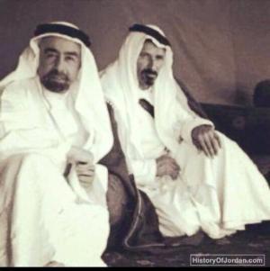 الملك عبدالله الأول Historical Photos Ibn Ali King Abdullah