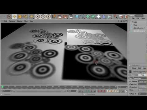 CINEMA 4D - Alpha channel textures in Photoshop - YouTube