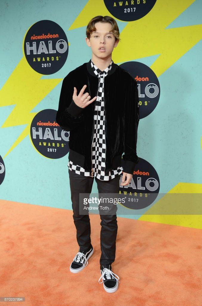 When Is Nickelodeon Halo Awards 2017 : nickelodeon, awards, Nickelodeon, Awards, Arrivals, Photos, Premium, Pictures, Jacob, Sartorius,, Nickelodeon,, Jacobs