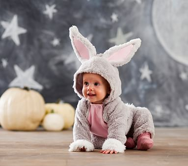 Halloween Costume Infant  Pink Rabbit 6-12 months or 12-18 months