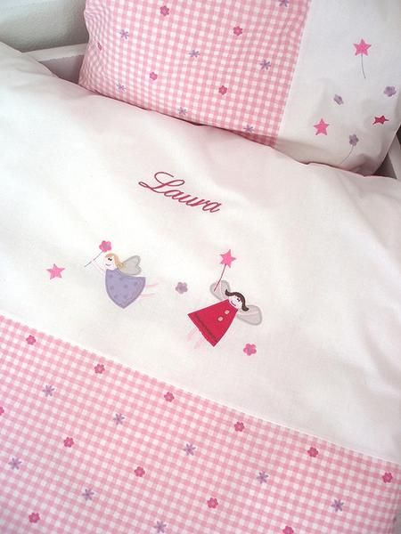 Baby bedding with name girl fairies petitepeople baby bedding gift ideas for newborns babies girls and boys negle Gallery