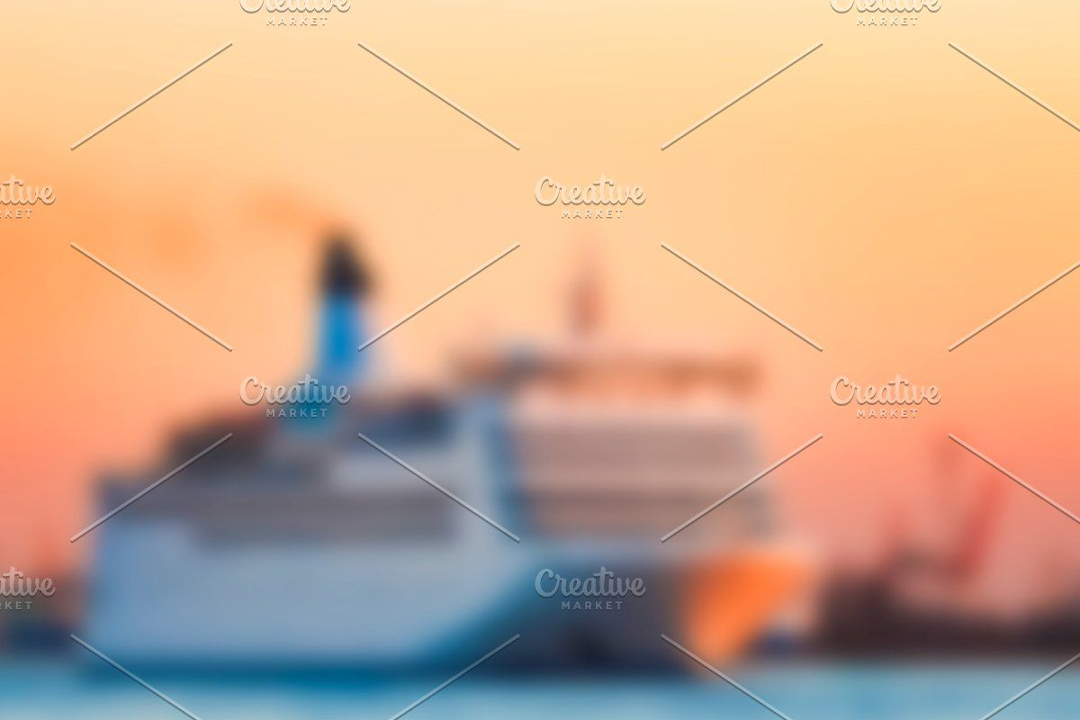 Photo of Cruise liner – blurred image #Sponsored , #AFFILIATE, #soft#lens#Cruise#liner