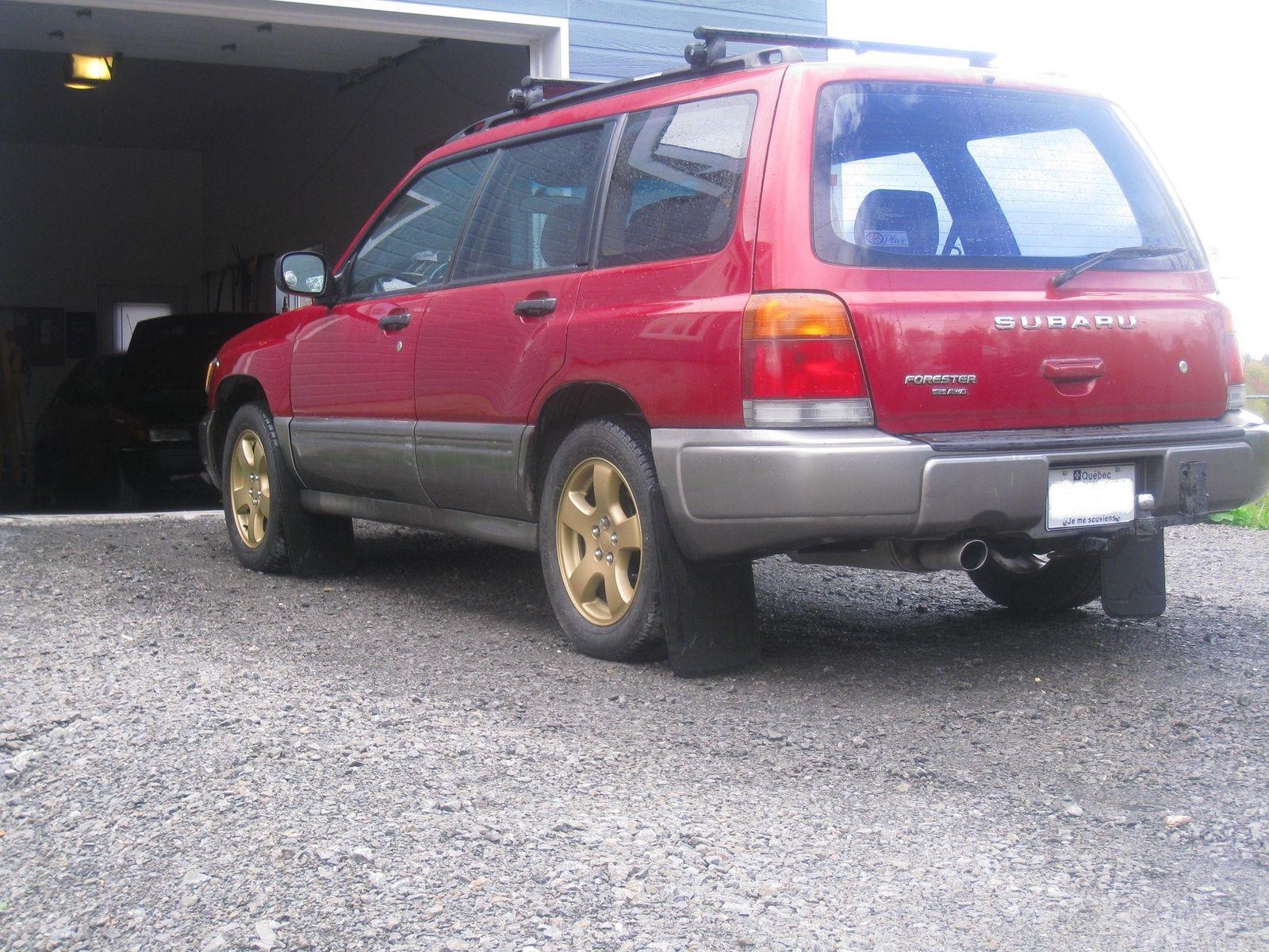 Subaru forester s awd