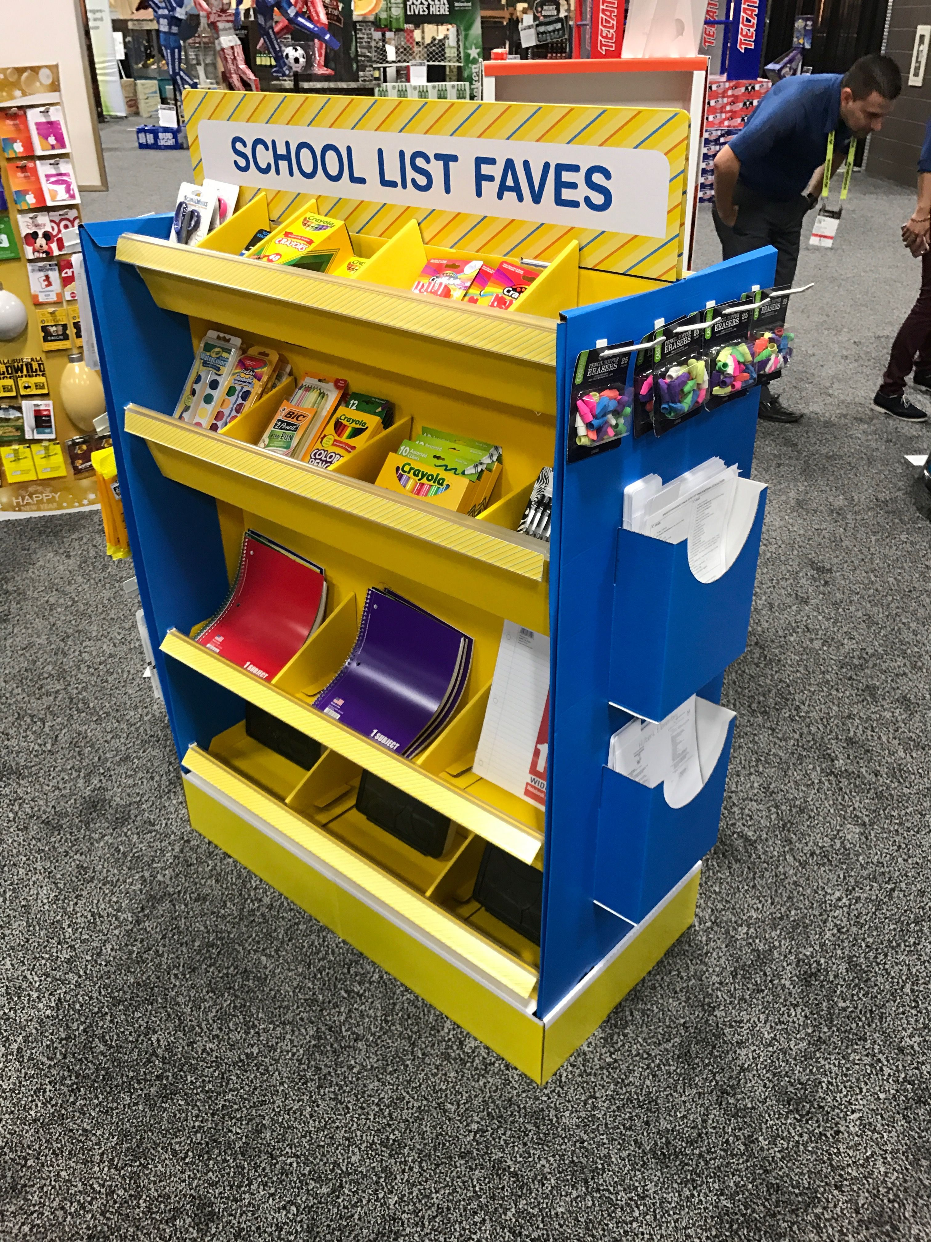 Looking To Purchase This Unit: Crayola 'School List Faves' Free Standing Unit