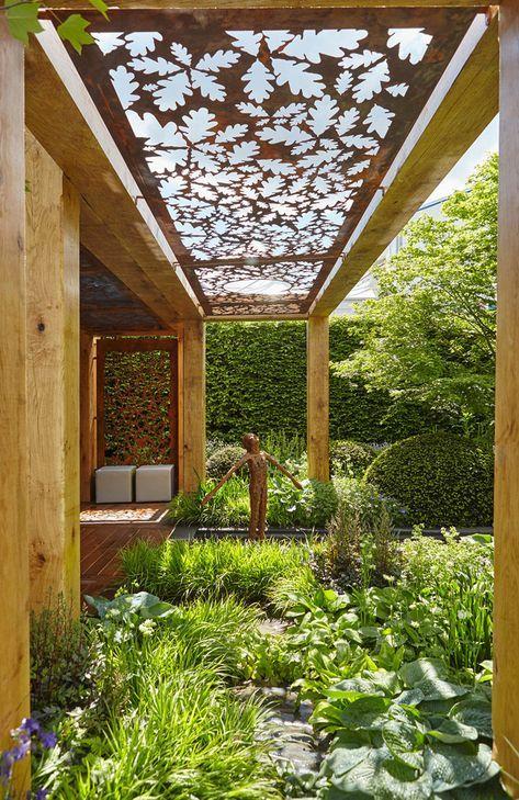 36 Amazing Garden Structure Design Ideas Gowritter Small Garden Design Garden Structures Landscape Design