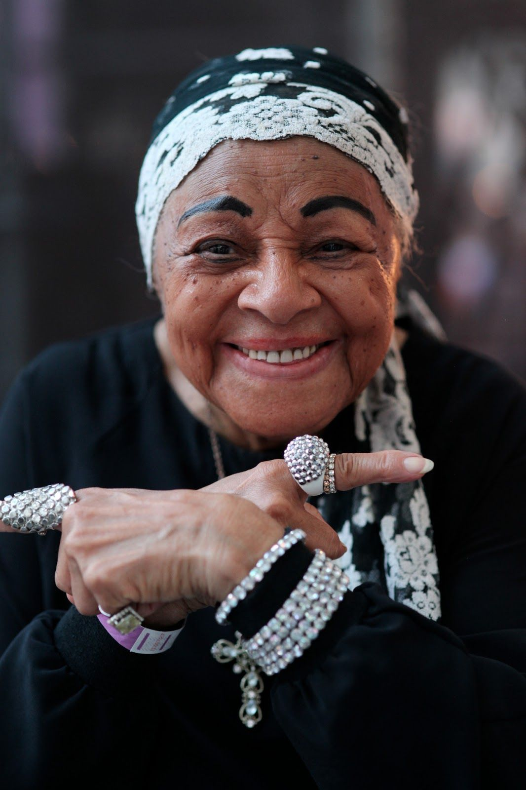 """ADVANCED STYLE: """"The Queen of Swing"""" - 93-year old Dawn Hampton"""