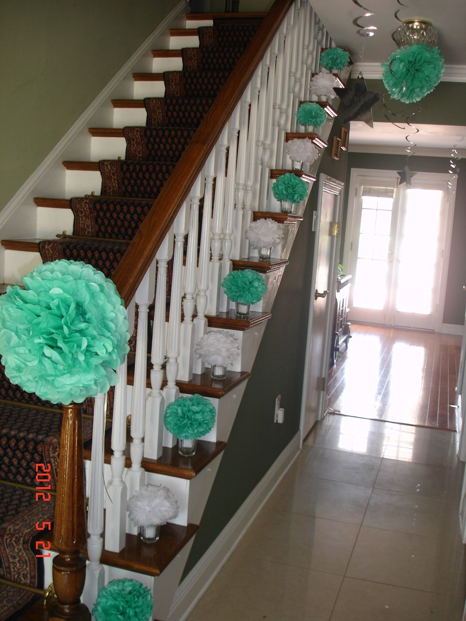 how to decorate stairs for party all home interior ideas rh ulekjuouyx e bicis store