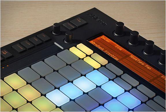 Ableton Push Ableton Innovation Design Music Tech