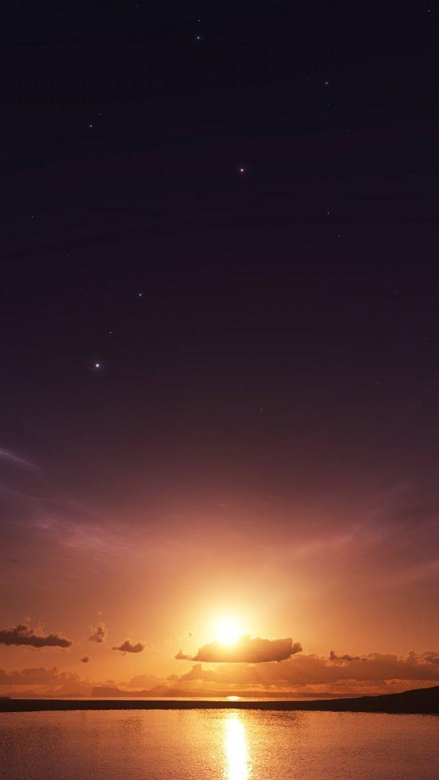 Sea sunset iphone 5 wallpaper sunrise sunset - Sunset iphone background ...