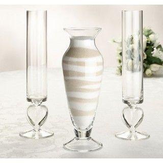 Glass Sand Ceremony Set for Wedding #daisydays