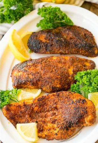 Easy Blackened Chicken Recipe #blackenedchicken