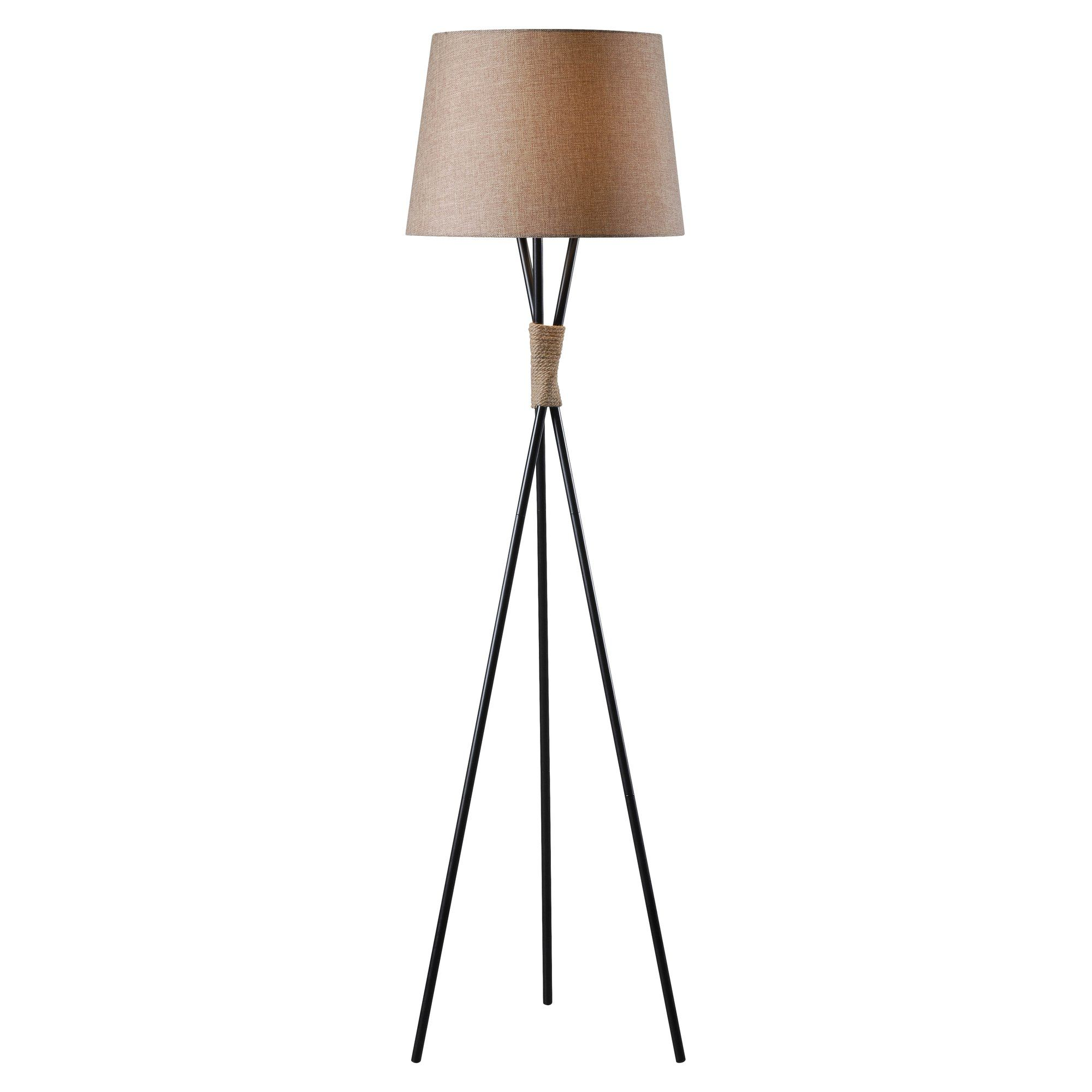 Wildon Home Trio Prong Floor Lamp