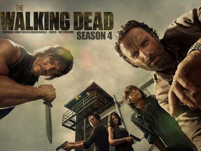 Vuelven los zombies: primer tráiler de la cuarta temporada de The ...