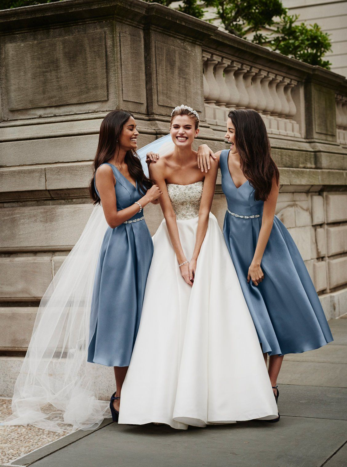 New from oleg cassini classic and elegant bridesmaid dresses for a