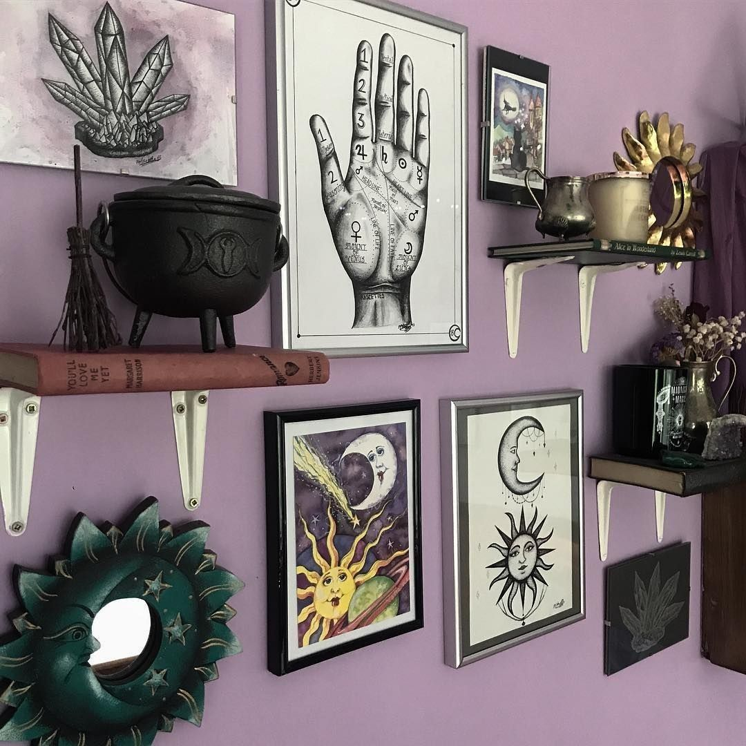 29 Best Diy Witchy Apartment Ideas To Get A Differing Look Goth Home Gothic Home Decor Decor