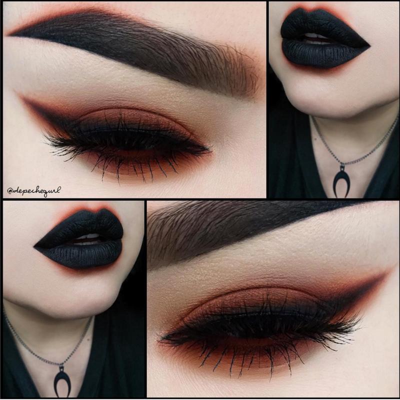 Makeup eye Gothic designs