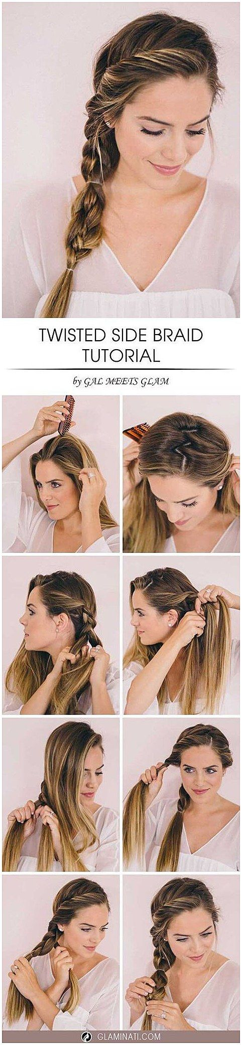 most popular step by step hairstyle tutorials