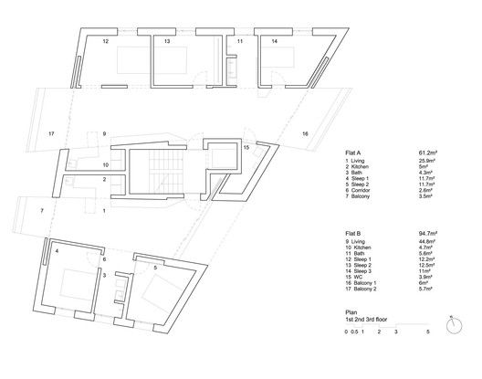 Affordable Housing In Zurich Typical Floor Plan Affordable Housing Floor Plans Ground Floor Plan