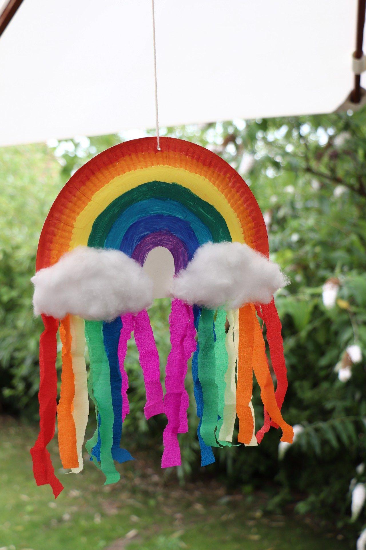 Photo of DIY: Pappteller-Regenbogen basteln – Lavendelblog