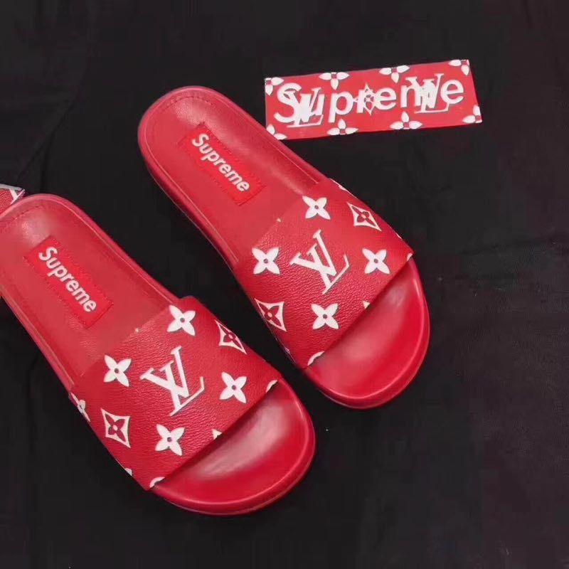 4f5ebffd69c7 Louis Vuitton LV X Supreme Flip Flop sandal